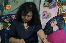 越南女画家代表团赴俄参加2019年国际女画家美术展