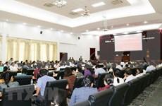 老挝工贸部举行奠边府大捷等重要历史事件宣传会议