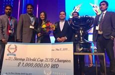 越南初创企业赢得2019创业世界杯冠军获100万美元投资奖励