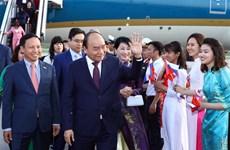 阮春福总理抵达圣彼得堡开始对俄罗斯进行正式访问