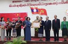 越共民运部代表团访问老挝:双方就群众工作交换经验