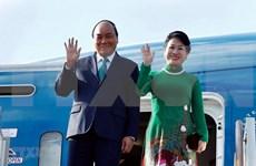 越南政府总理阮春福接受俄罗斯塔斯社的采访