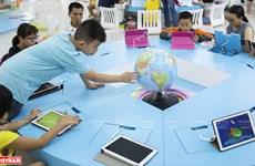 胡志明市首家现代化电子图书馆——S.hub Kids少儿技术空间