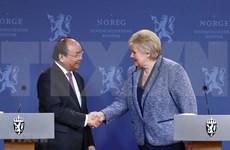 越南与挪威发表联合声明