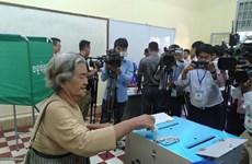 柬埔寨举行第三届首都省市县区理事会选举