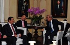 越南共产党代表团对多米尼加进行工作访问