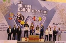 2019年胡志明市世界杯开伦(三球)台球锦标赛落下帷幕