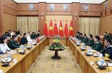 中华人民共和国国防部部长对越南进行正式访问
