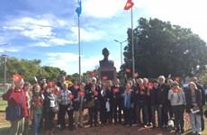 胡志明主席诞辰129周年:阿根廷人民缅怀胡志明主席