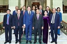 越南政府总理阮春福会见瑞典议会议长安德烈亚斯·诺伦