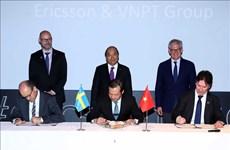 阮春福总理参观瑞典部分高科技企业发展模式