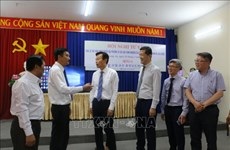 韩国忠清南道向隆安省分享地方发展模式经验