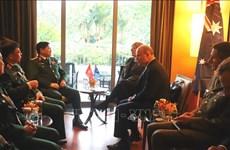 越南防长出席美国国防部长与东盟防长会晤
