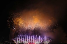 2019年岘港国际烟花节绚丽绽放