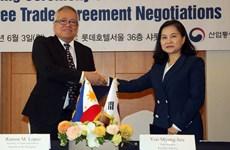 韩国促进与东盟各成员国自贸协定谈判