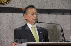 越南国会主席阮氏金银向泰国国会主席和上议院议长致贺电