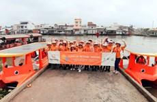 世界环境日:使用太阳能垃圾收集船清理湄公河