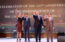 美国国庆243年庆典在胡志明市举行