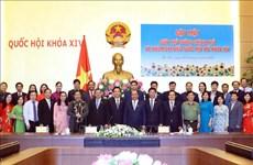 越南政府总理阮春福:国会就是青年国会代表的一所大规模大学