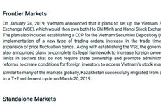 MSCI涉及越南的积极变化