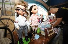 """胡志明市""""娃娃集市""""吸引人民群众的眼球"""