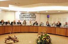 第三次越南共产党与法国共产党理论研讨会在巴黎举行