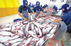 今年前5月越南水产品出口额同比下降