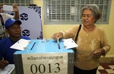柬埔寨国家选举委员会公布地方选举结果