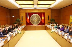 国会副主席丛氏放与捷克众议院副议长沃伊杰赫•菲利普举行会谈