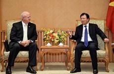 美国汉佰集团领导希望扩大对越合作