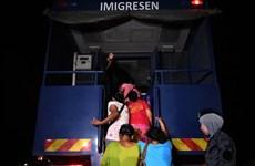 马来西亚制定总体计划解决非法移民问题