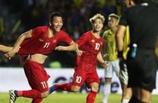 越南队以第二档次种子队资格参加40强赛的分组抽签