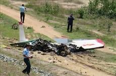 越南军用训练机在庆和省坠毁 两名飞行员牺牲