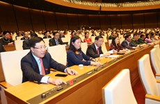 越南第十四届国会第七次会议:国会表决通过两项重要决议