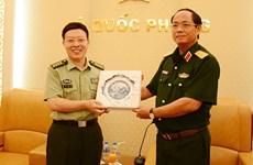 中国人民解放军国防大学政治学院代表团访问越南