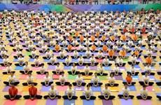 第五届国际瑜伽日—致力于绿色生活的瑜伽