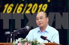 阮春福:将反腐败斗争视为必须抓好的重大政治任务