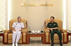 越泰两国军队加强海事安全合作