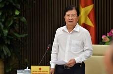 郑廷勇对制定广南省山城都市总体规划提出指导意见