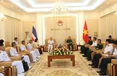 越南和泰国军队加强海上联合巡逻