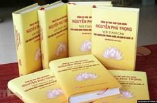 关于阮富仲的书籍正式问世