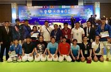 越南队在2019年第6届克拉术亚洲青年锦标赛成果丰硕