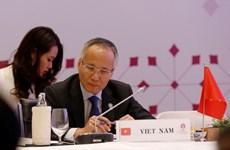 东盟力争今年内完成RCEP谈判