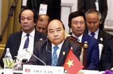 越南政府总理阮春福出席第34届东盟峰会全体会议