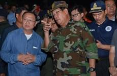 柬埔寨一座七层楼房坍塌事件:洪森总理作出系列人事任免决定