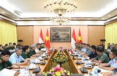 首次越南-印尼防务政策对话举行
