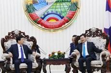 老挝领导人:越老关系向好发展