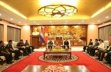 越南首都河内与柬埔寨金边促进友好合作关系