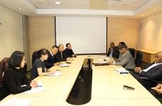 越南与南非就制定自贸协定的提议交换意见