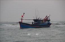 成功营救在黄沙海域遇险的渔民